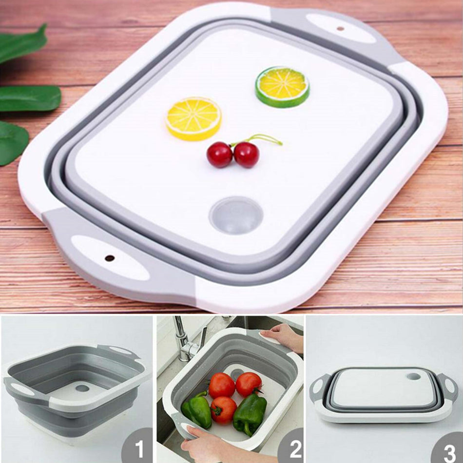 Multifunctional Collapsable Chopping Board