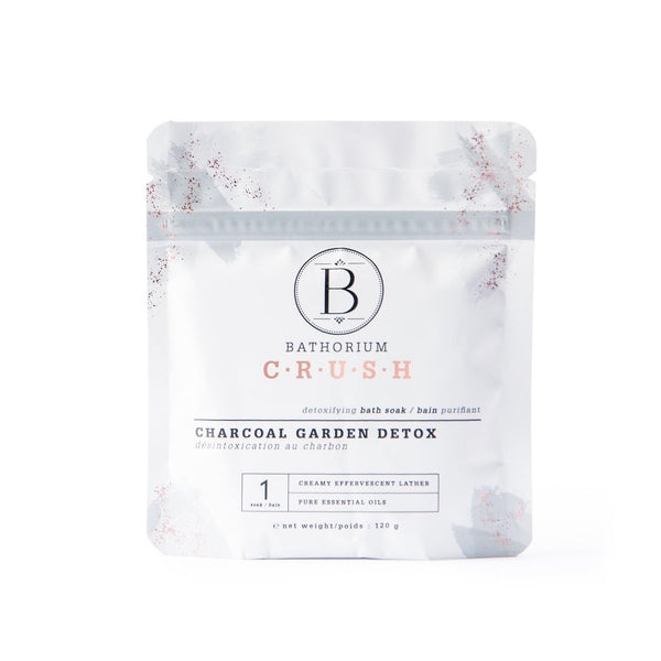 Bathorium Charcoal Garden Detox Crush - Lurra Wellness Inc.