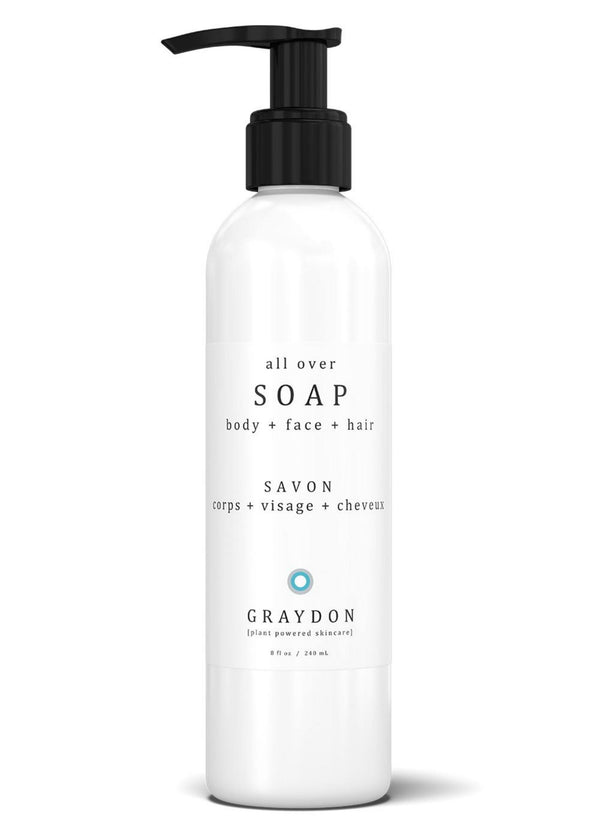 Graydon Skincare All Over Soap - Lurra Wellness Inc.