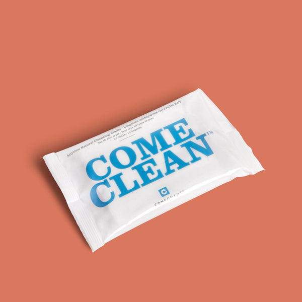 Consonant Skincare Come Clean 100% Natural Bamboo Cleansing Cloths - Lurra Wellness Inc.
