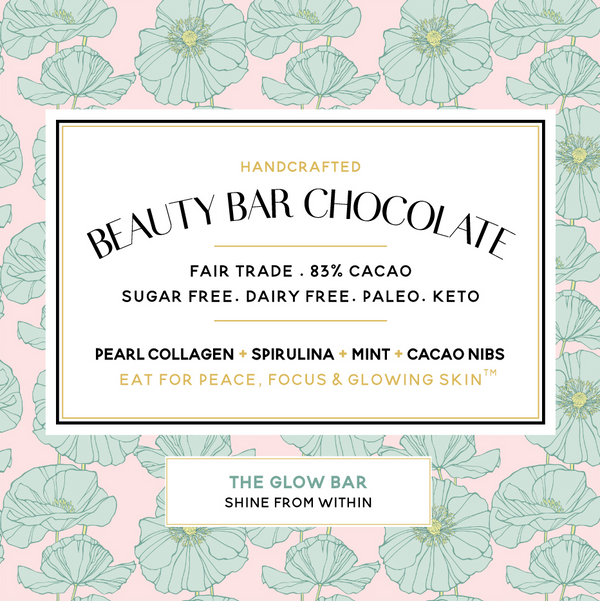 Beauty Bar Chocolate Glowing Mint Beauty Bar - Lurra Wellness Inc.