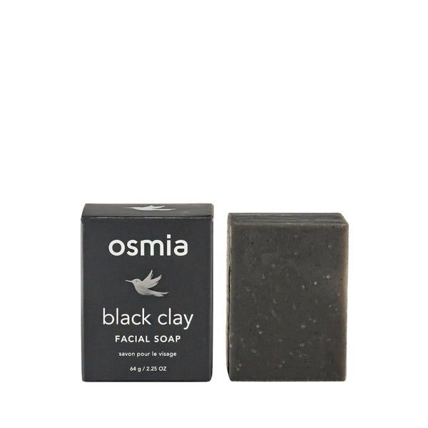 Osmia Black Clay Facial Soap - Lurra Wellness Inc.