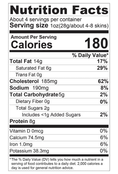 Best Seller Pack Nutritional Facts