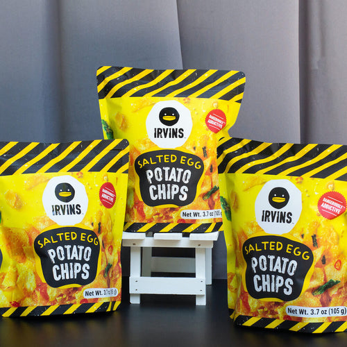 IRVINS Salted Egg Potato Chip 3 Pack