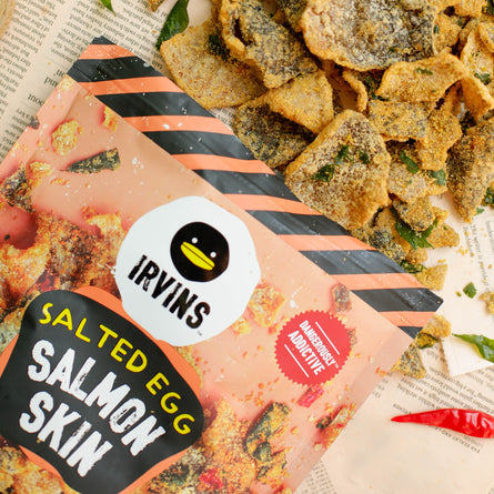 Salted Egg Salmon Fish Skin Case (Family Value Size)