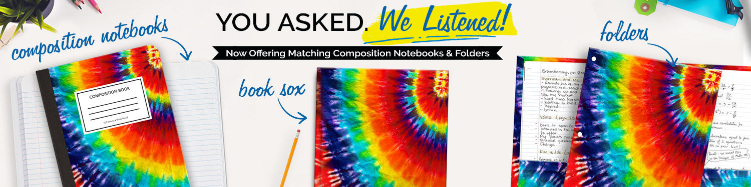 Composition Notebooks & Folders
