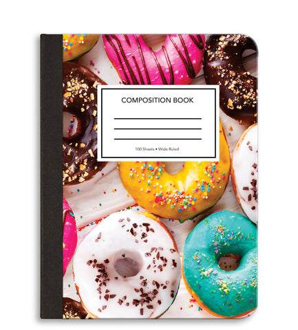 Donuts Composition Notebook