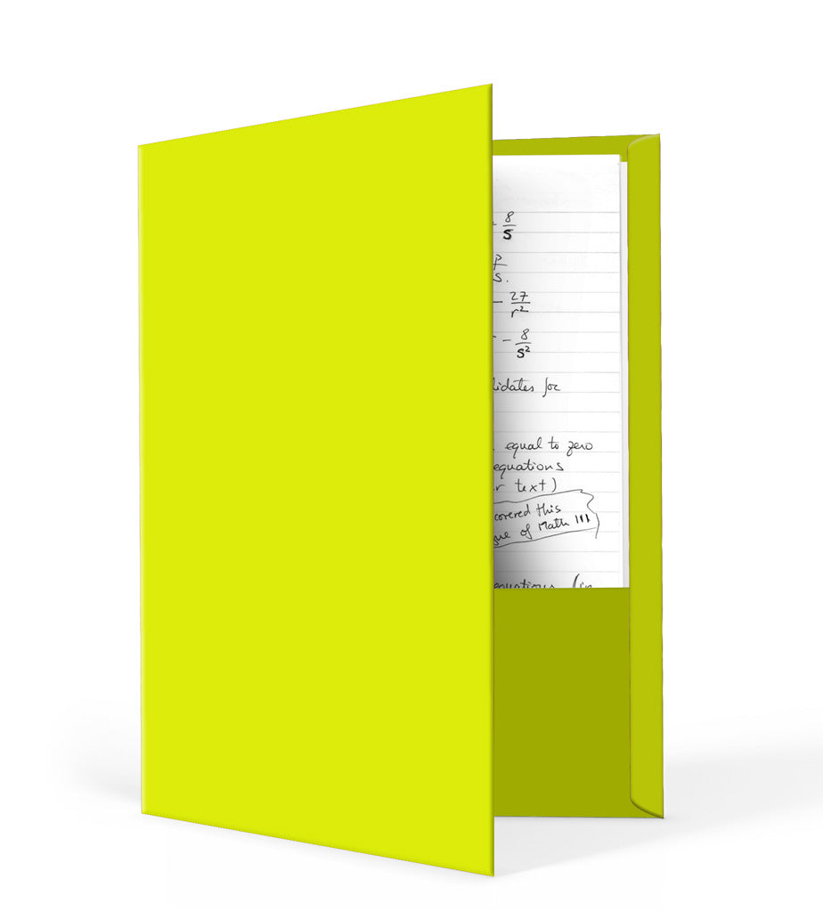 Lemon Lime Folder