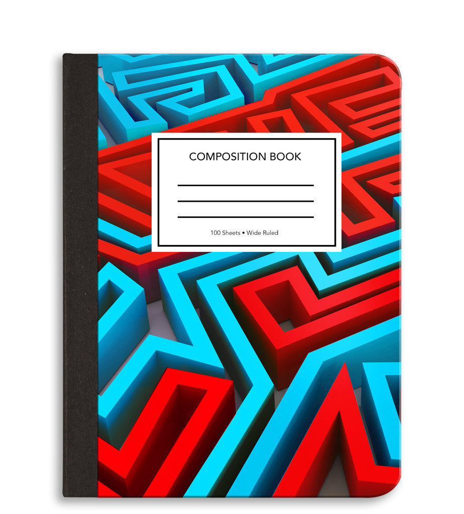 Maze Composition Notebook