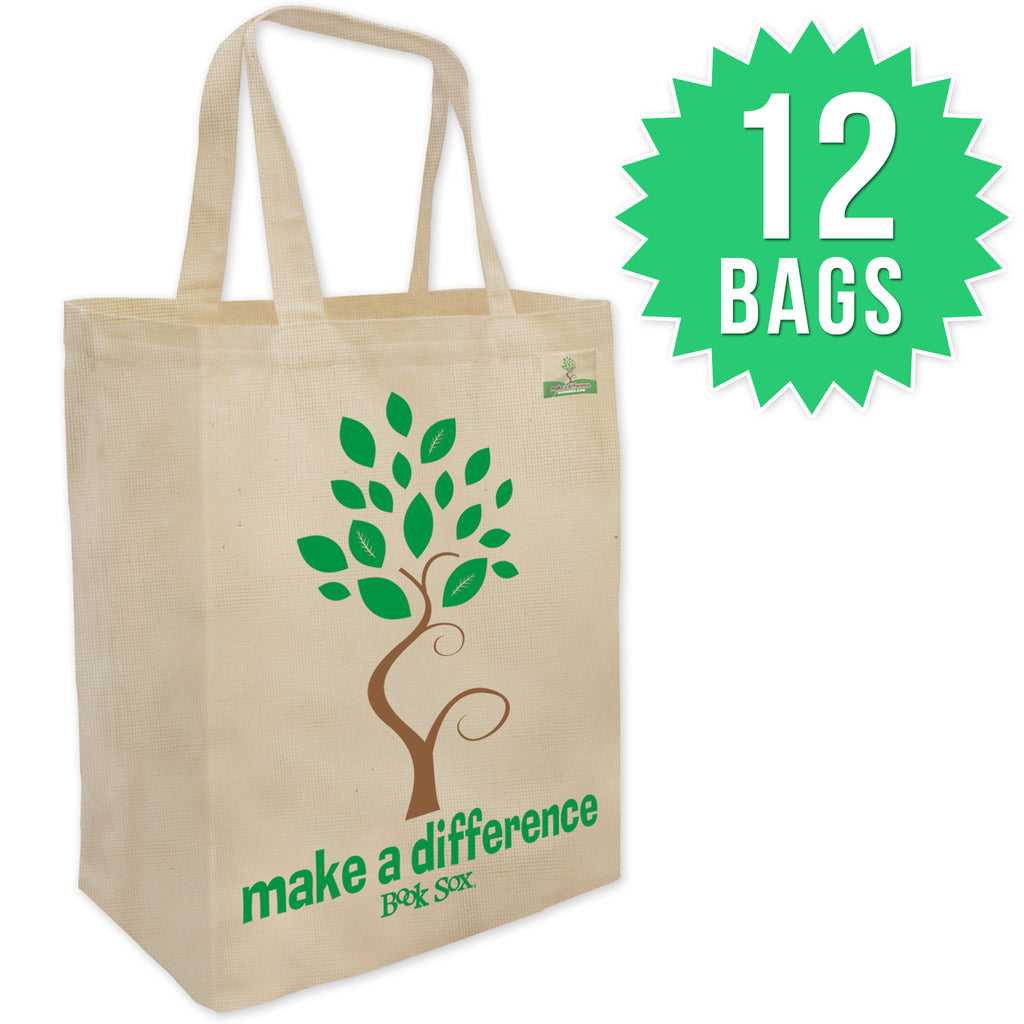 Natural Eco Bags 12 Pack