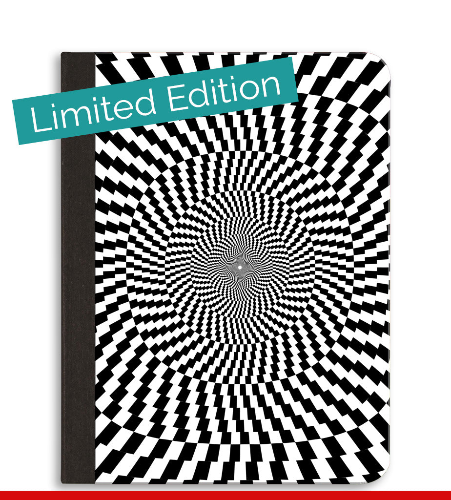 Optical Illusion Composition Notebook