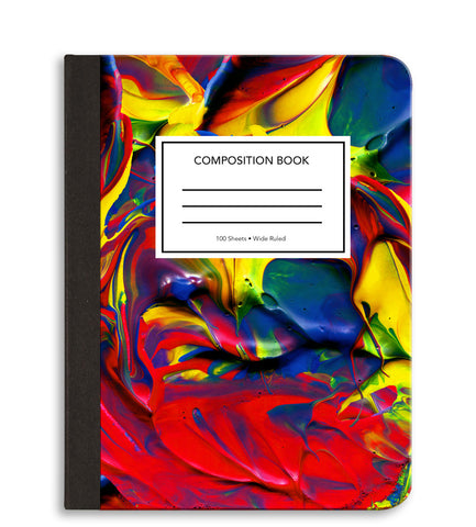 Paint Composition Notebook