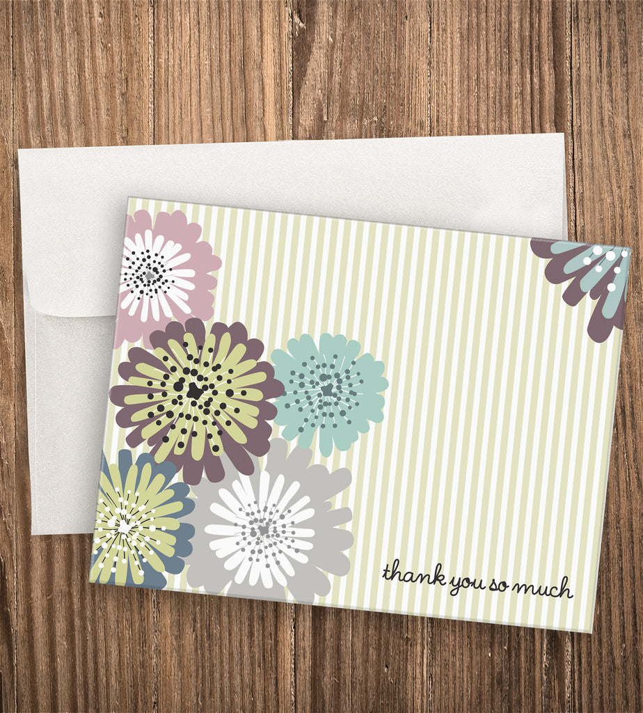 PINWHEEL THANK YOU CARD SET
