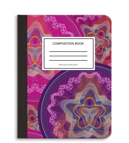 Spirograph Composition Notebook
