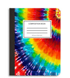 Tye Dye Composition Notebook