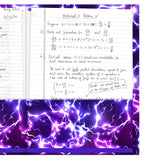 Purple Lightning Folder