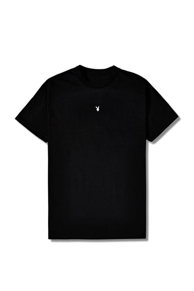 Fragment Meets Playboy Blue Bunny Black Tee