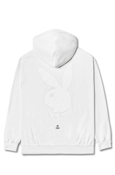 Fragment Meets Playboy White Hoodie