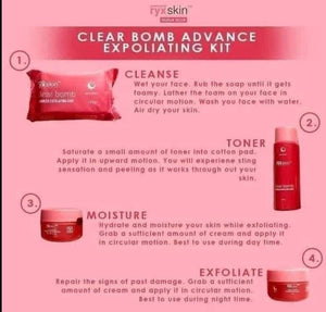 Clear Bomb Advanced Exfoliating