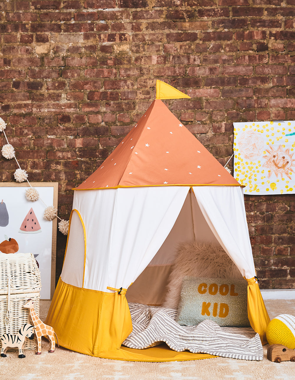 The Retro Play Tent