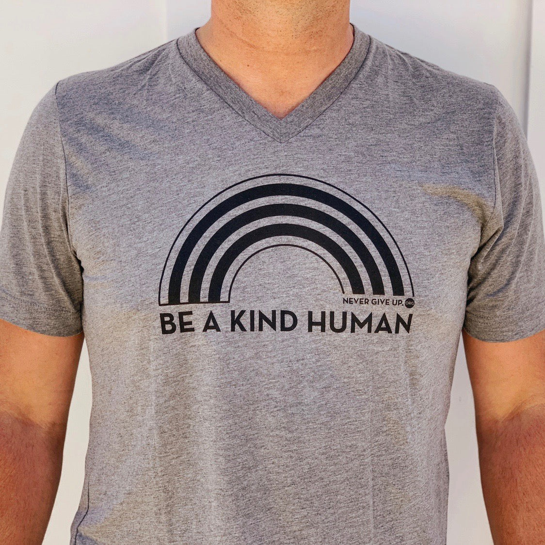 BE A KIND HUMAN UNISEX VNECK