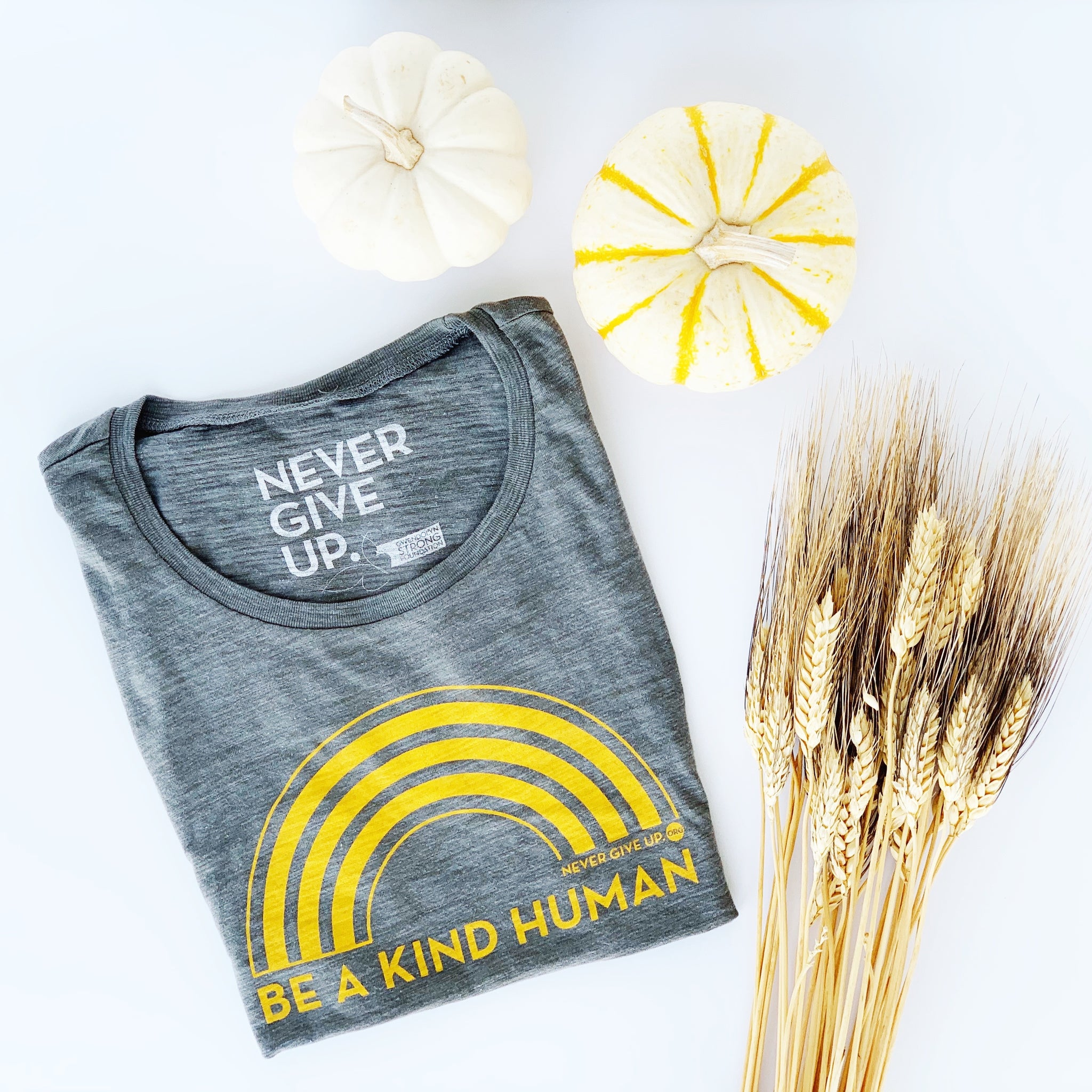 BE A KIND HUMAN MUSCLE TANK