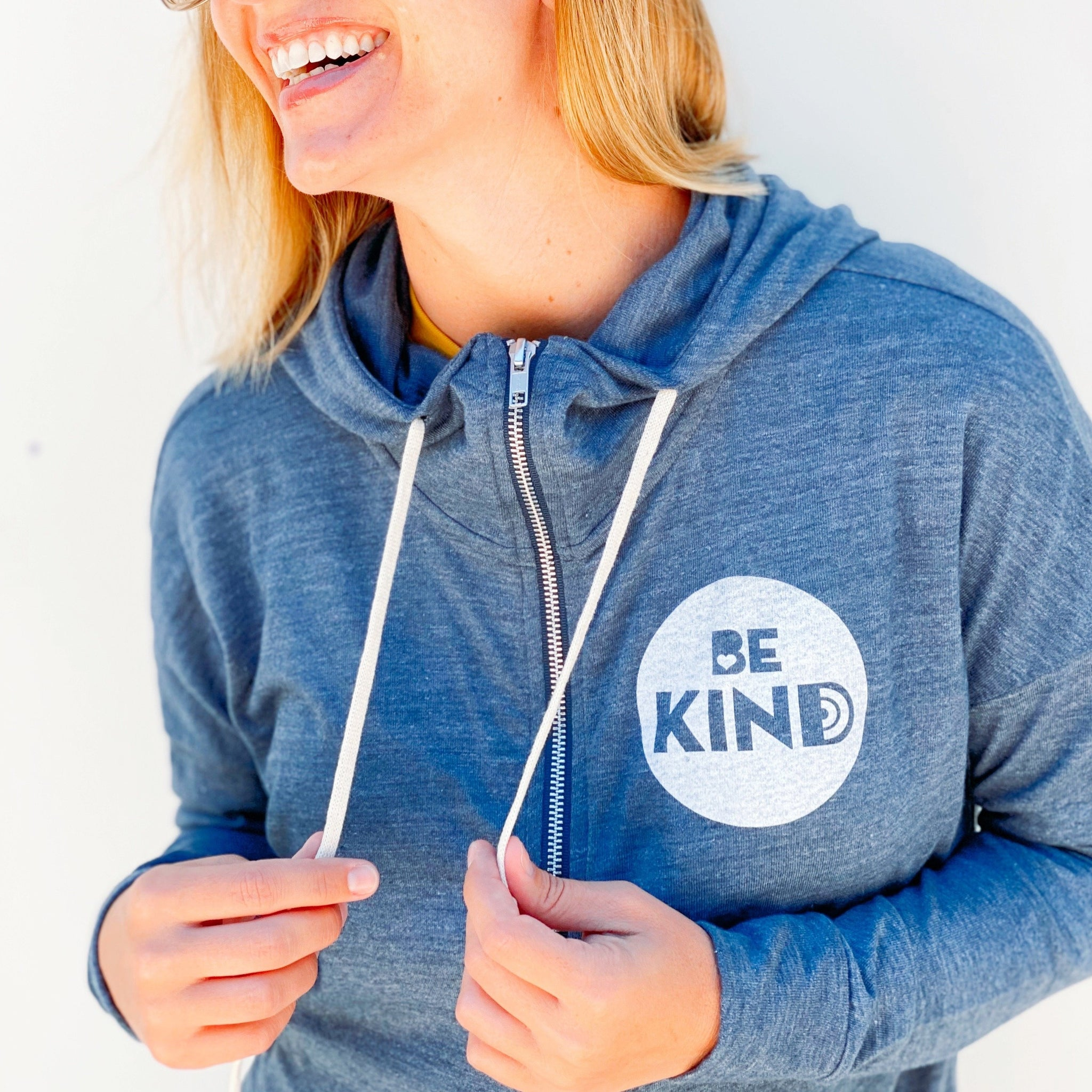 BE KIND ZIP UP