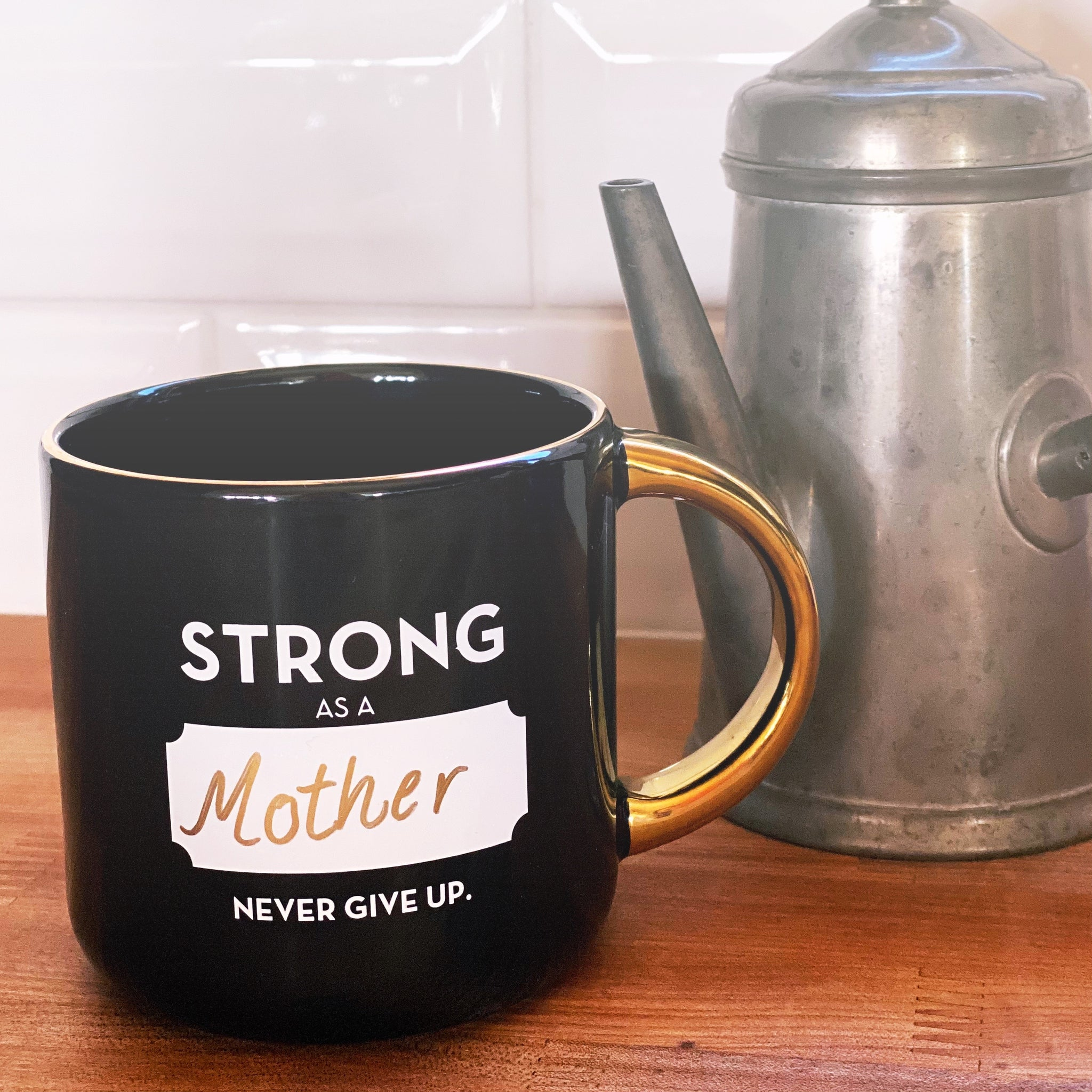 PERSONALIZED STRONG AS MUG