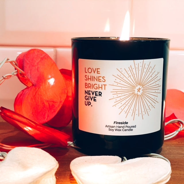 LOVE SHINES BRIGHT CANDLE