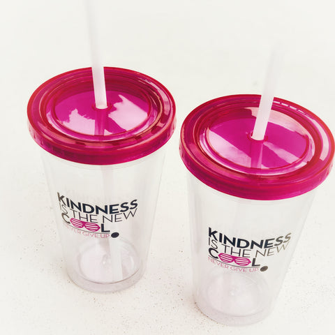 KINDNESS IS THE NEW COOL. TUMBLER
