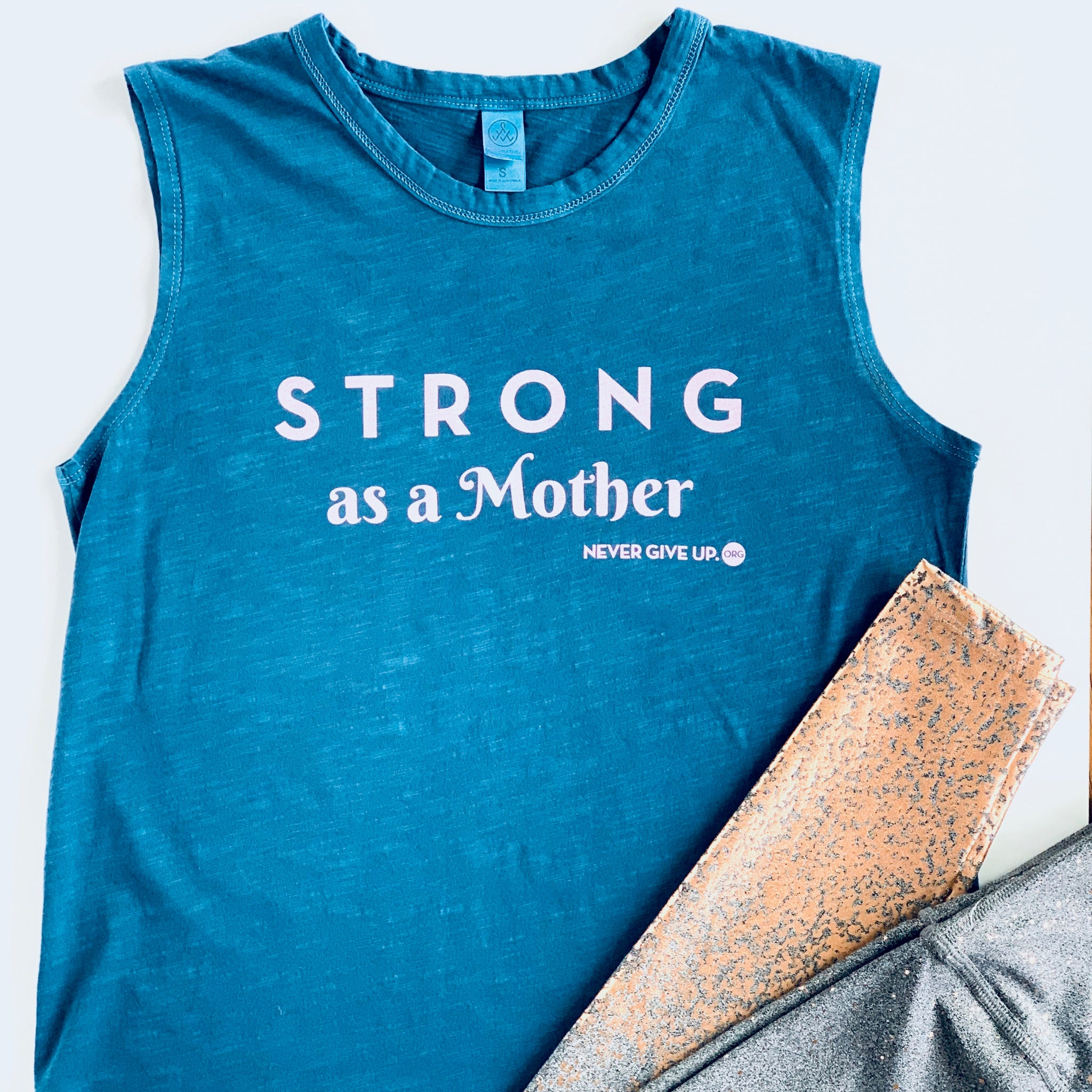 STRONG AS A MOTHER TANK (BLUE)