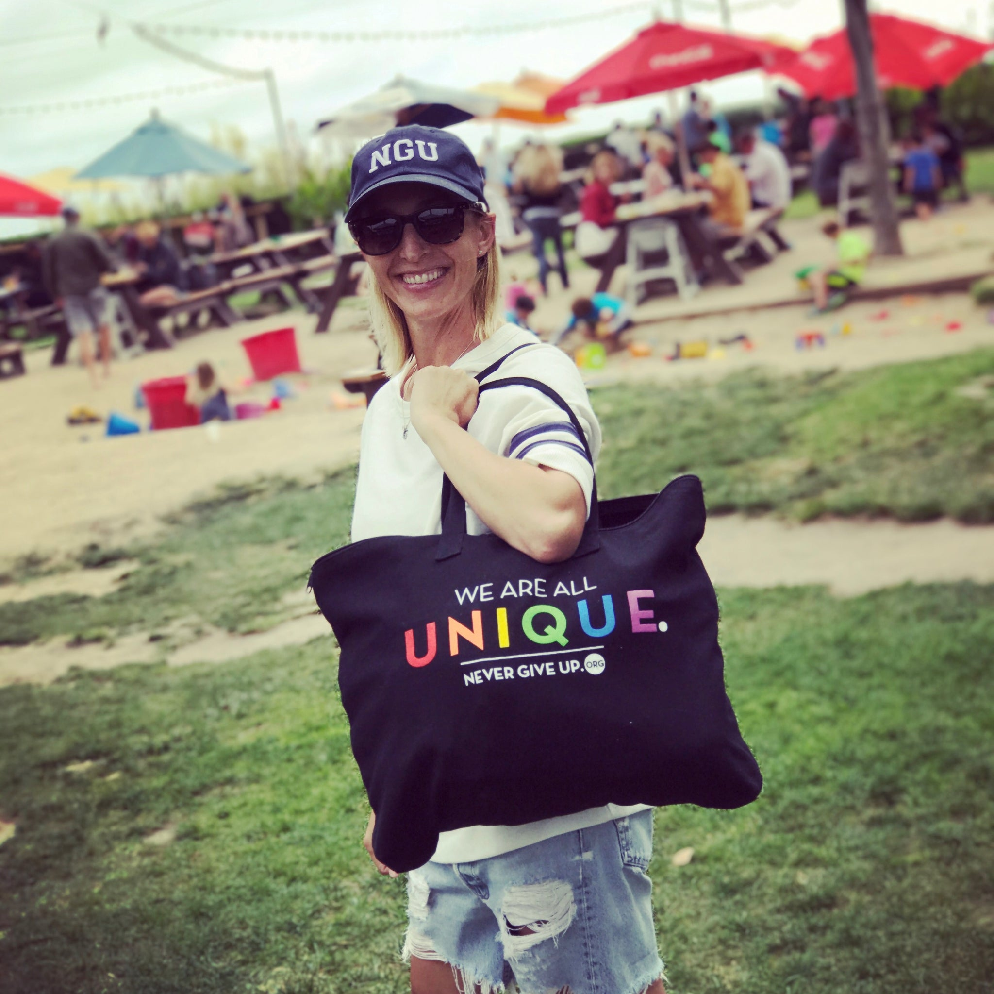 WE ARE ALL UNIQUE TOTE