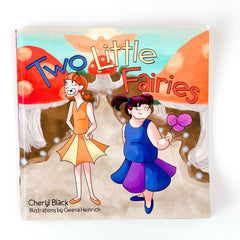 TWO LITTLE FAIRIES BOOK BY CHERYL BLACK