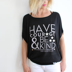 COURAGE FLOWY TOP