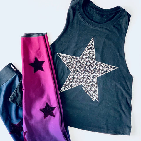STAR NEVER GIVE UP. TANK