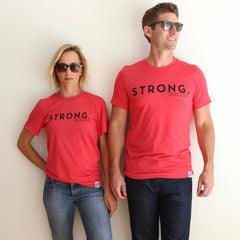 S T R O N G TEE (RED)