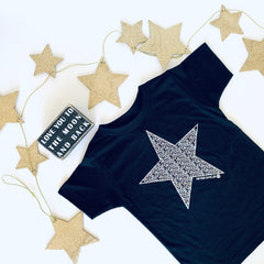 KIDS STAR NEVER GIVE UP. TEE