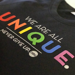 WE ARE ALL UNIQUE PULLOVER SWEATSHIRT