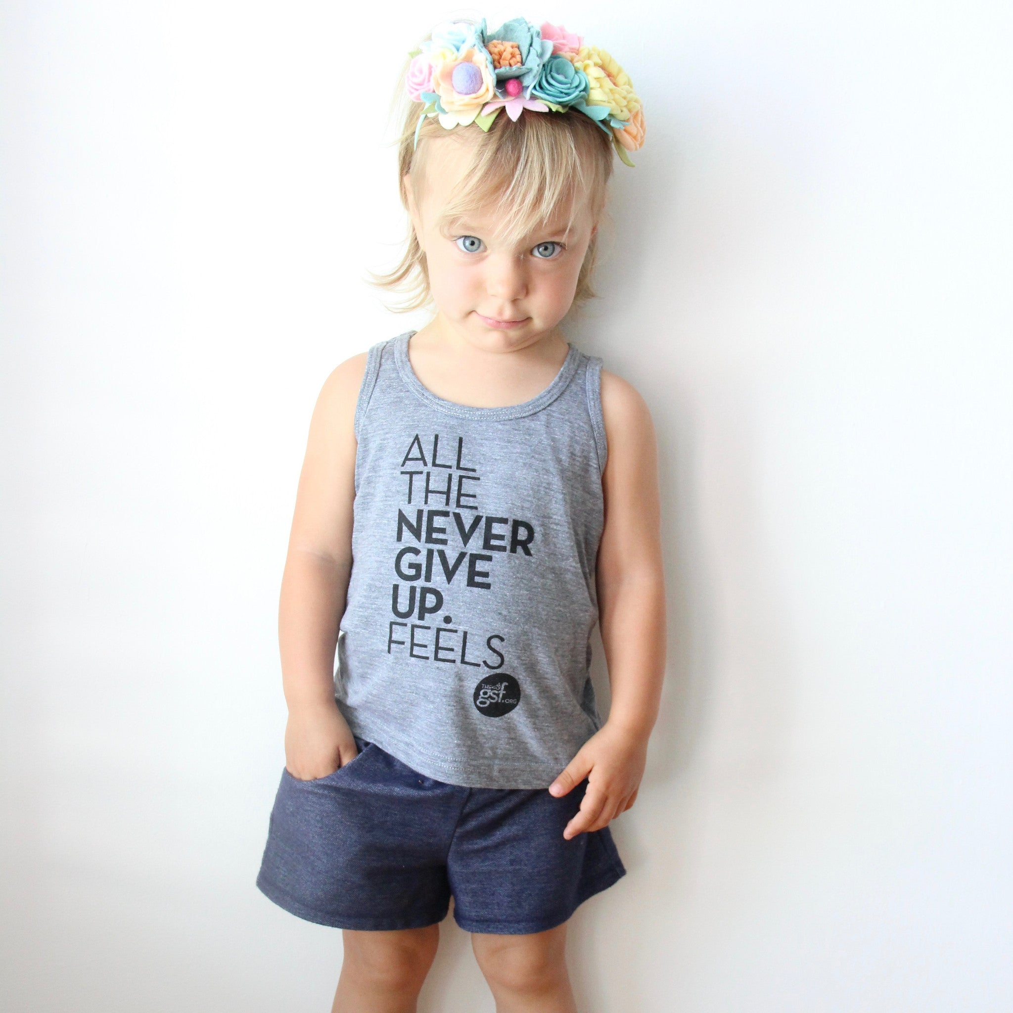 ALL THE FEELS KIDS TANK