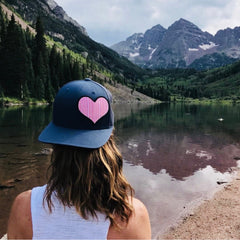HEART PATCH HAT
