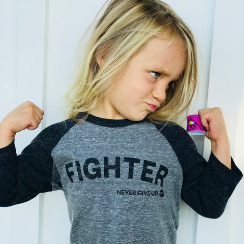 FIGHTER KIDS RAGLAN