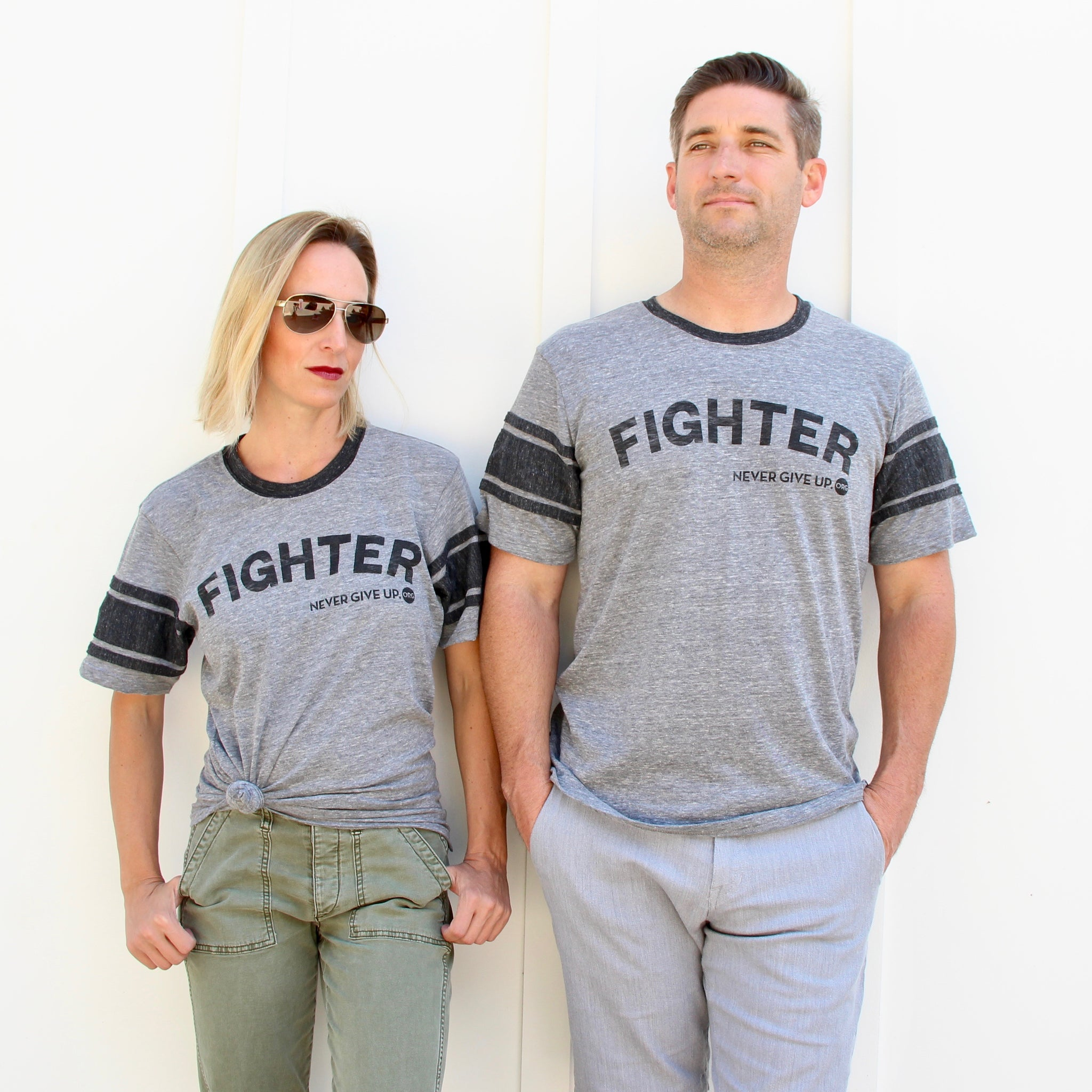 UNISEX FIGHTER FOOTBALL TEE