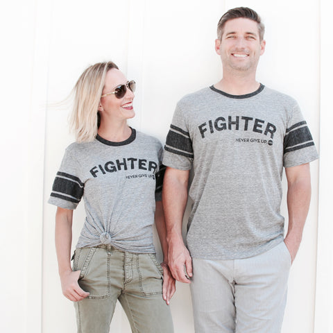 FIGHTER FOOTBALL TEE