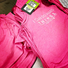 KIDS I CAN DO HARD THINGS PINK TANK