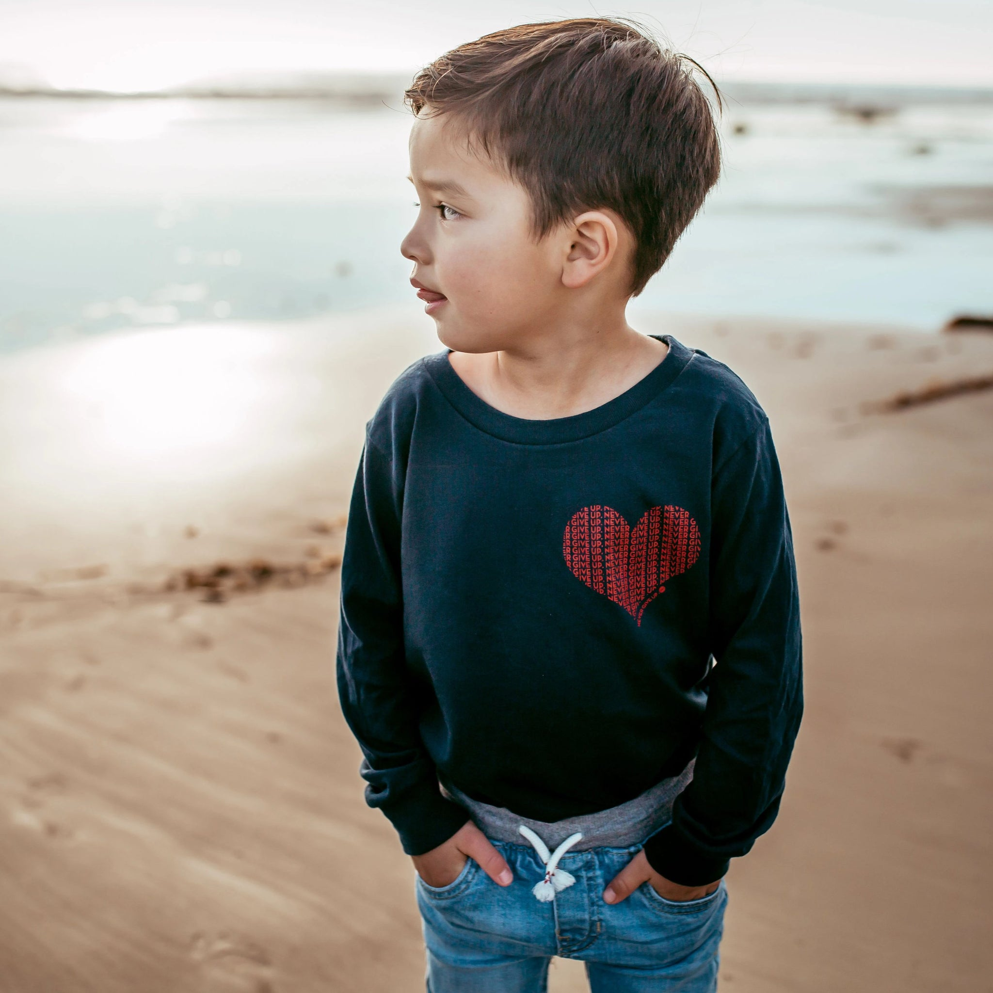 KIDS HEART LOVE SLEEVE