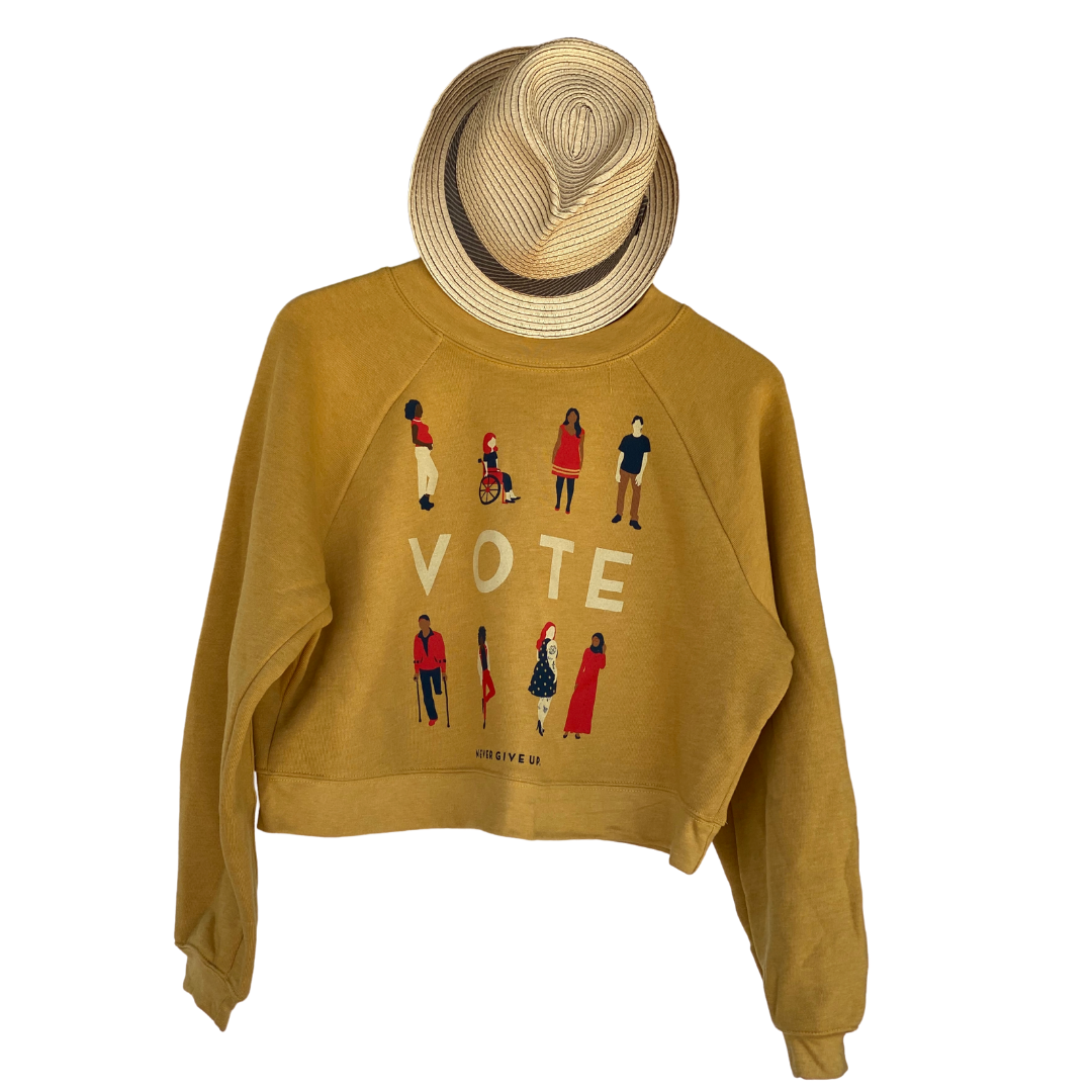 VOTE FLEECE CROP