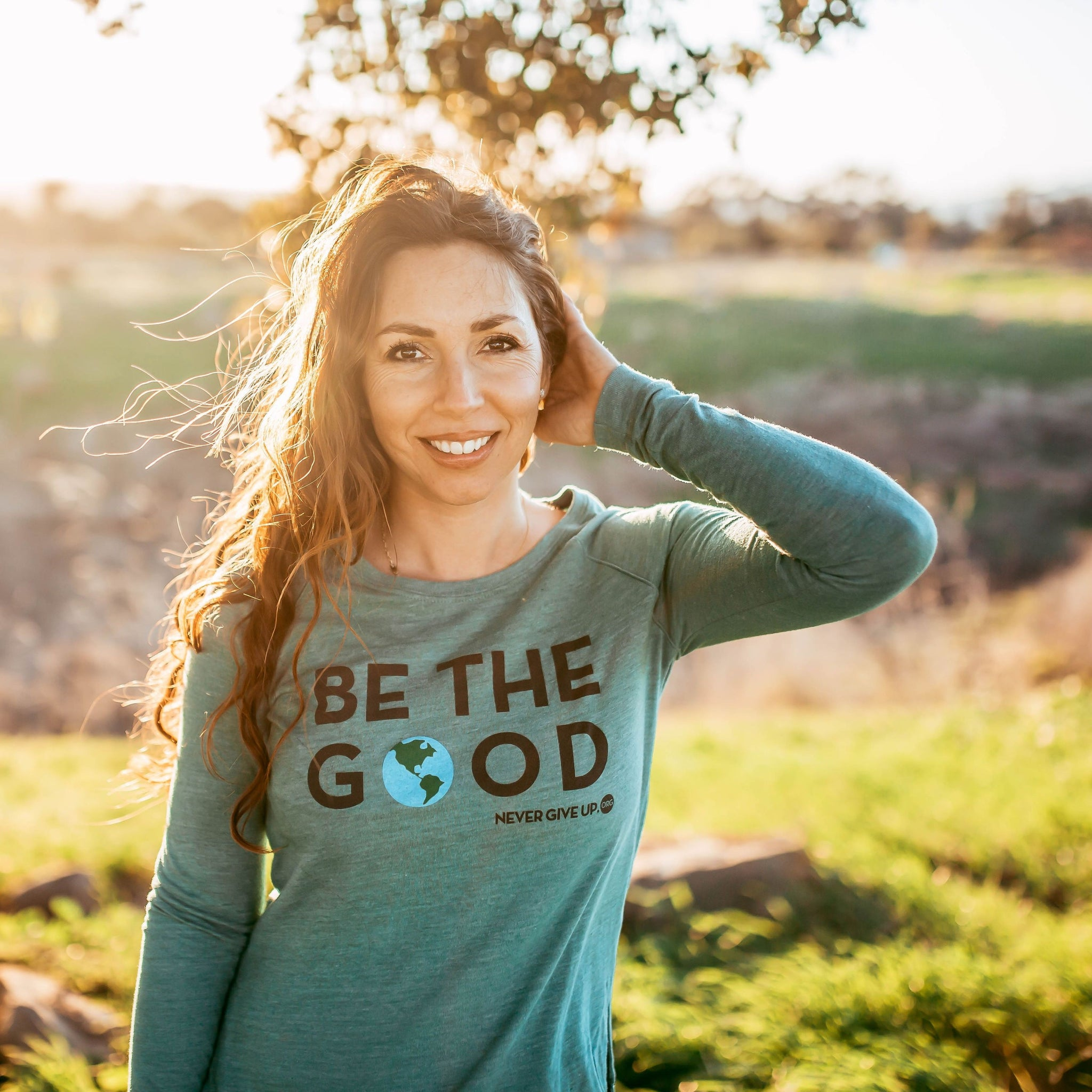 BE THE GOOD LONG SLEEVE