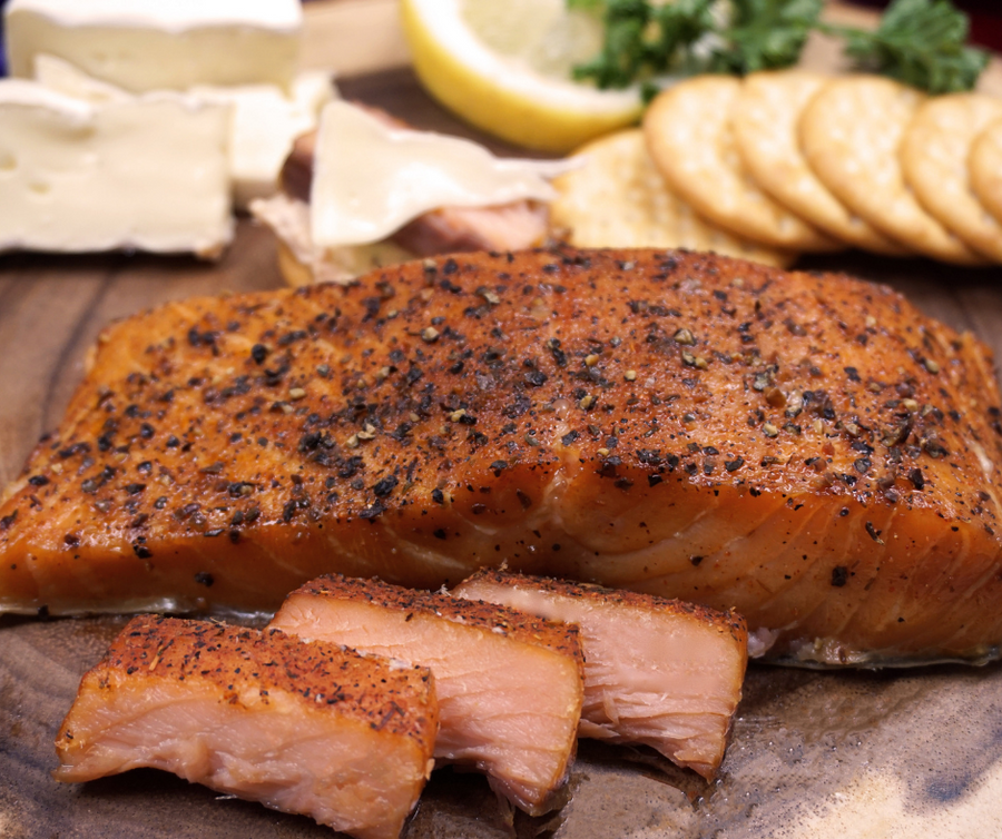 Peppered Smoked Salmon