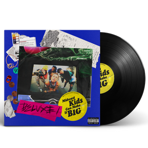 MIDWEST KIDS CAN MAKE IT BIG DELUXE VINYL (BLACK) *PRE-ORDER*