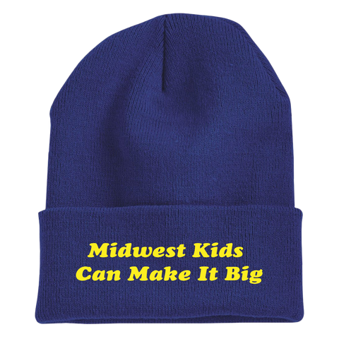 MIDWEST KIDS EMBROIDERED BEANIE